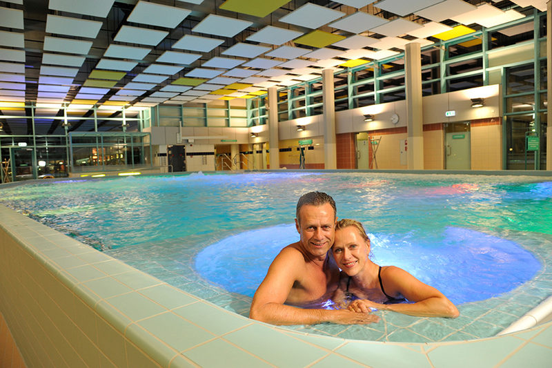 Sole-Fit im Thermal Jod-Sole-Wasser